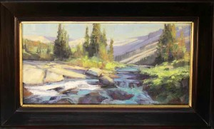 Wind River Lake Outlet 10x20